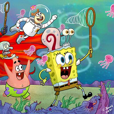Clinton jones spawn an spongebob final