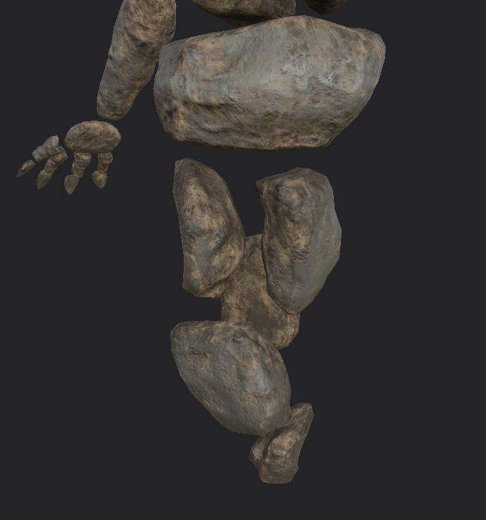Minoithe Textures: Body boulders