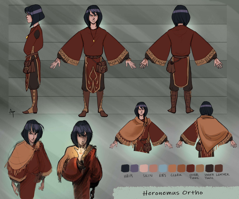 Character turnaround for Heronemus