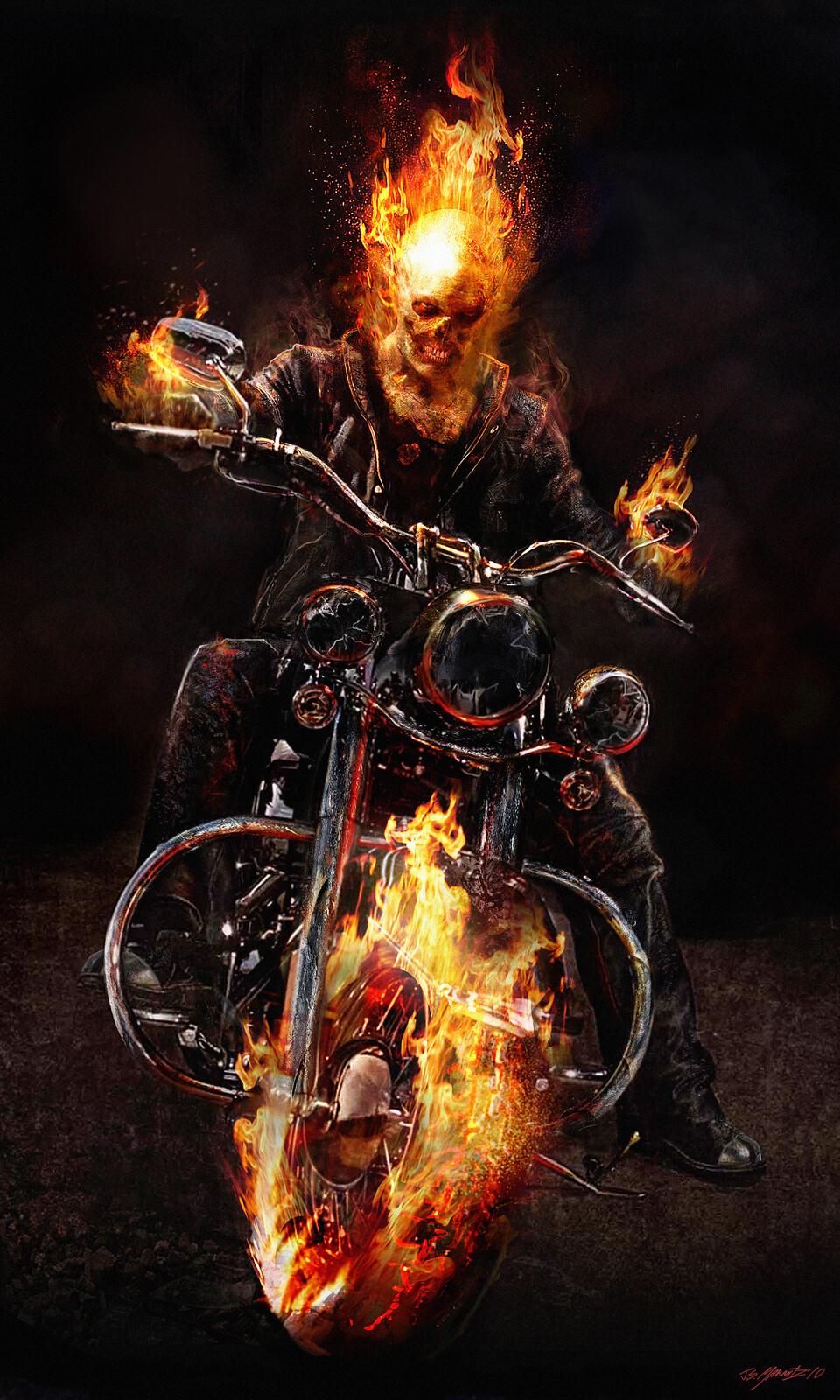 Ghost Rider Spirit of Vengeance Designs