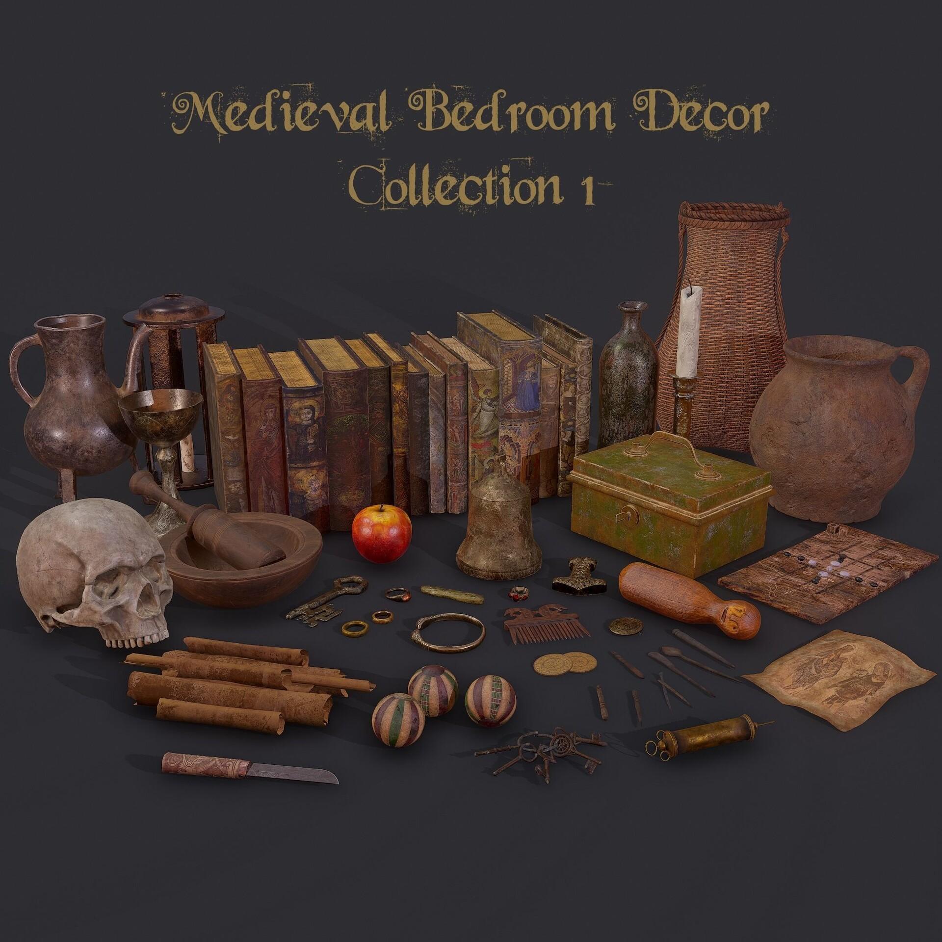 Artstation Medieval Bedroom Get Dead Entertainment