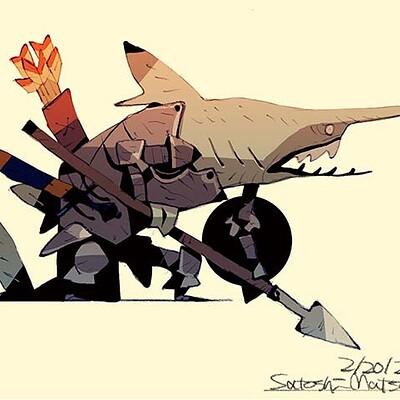 Satoshi matsuura 2021 02 09 goblin shark man s