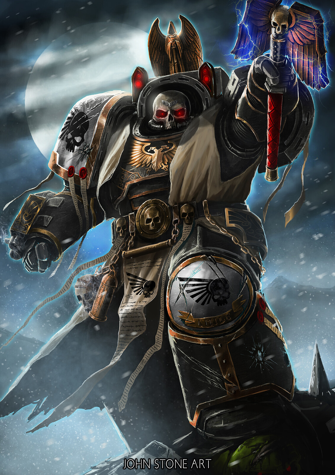 Umbral Wraith's High Chaplian Emile