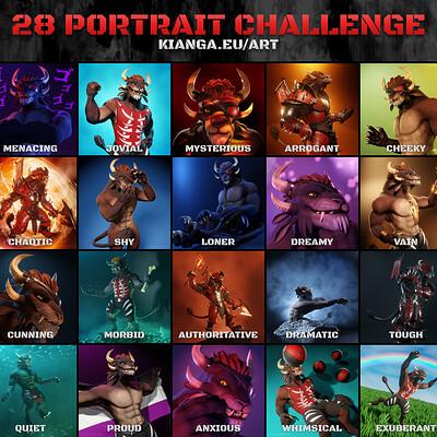 Rene puls 28 portrait challenge