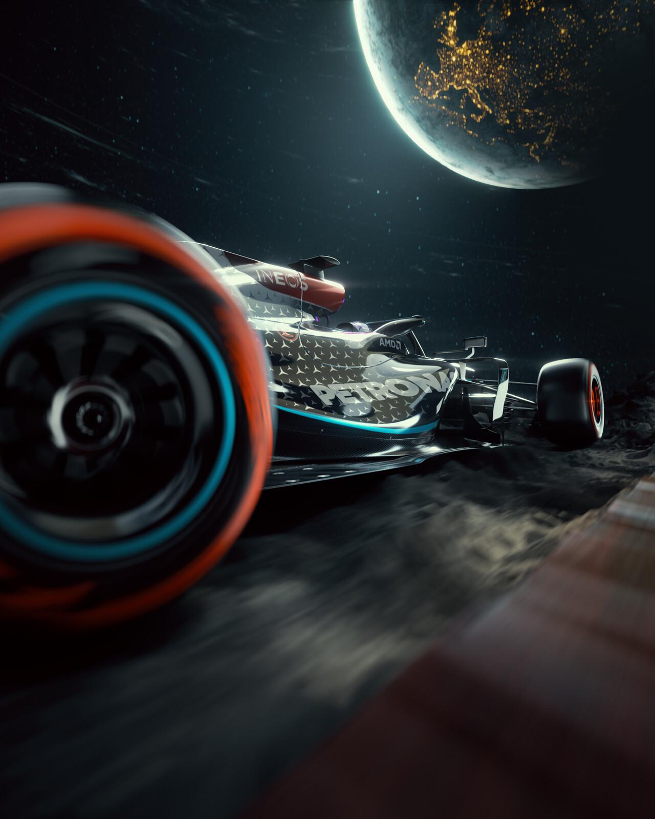 MERCEDES W12 FANART // F1 2021