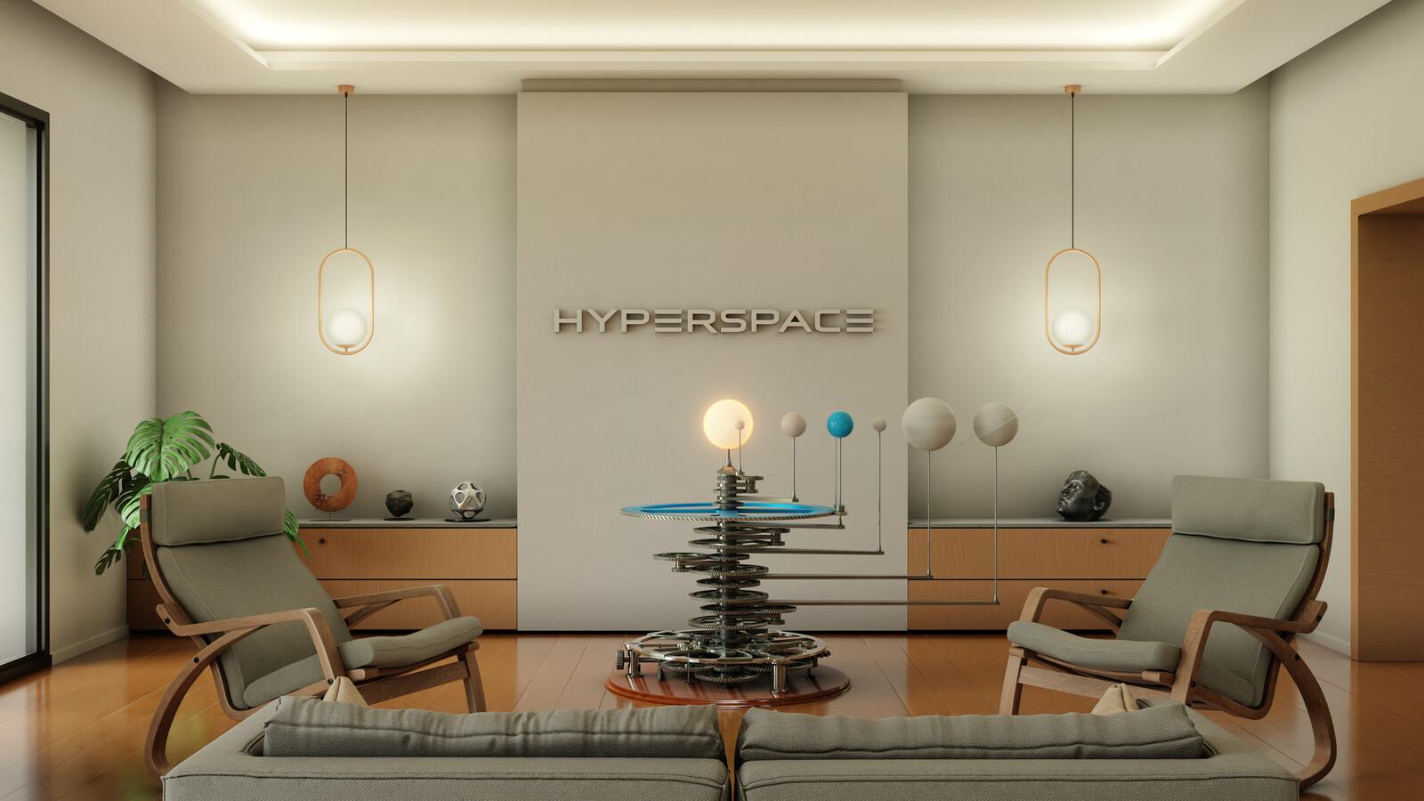 HyperspaceVR room