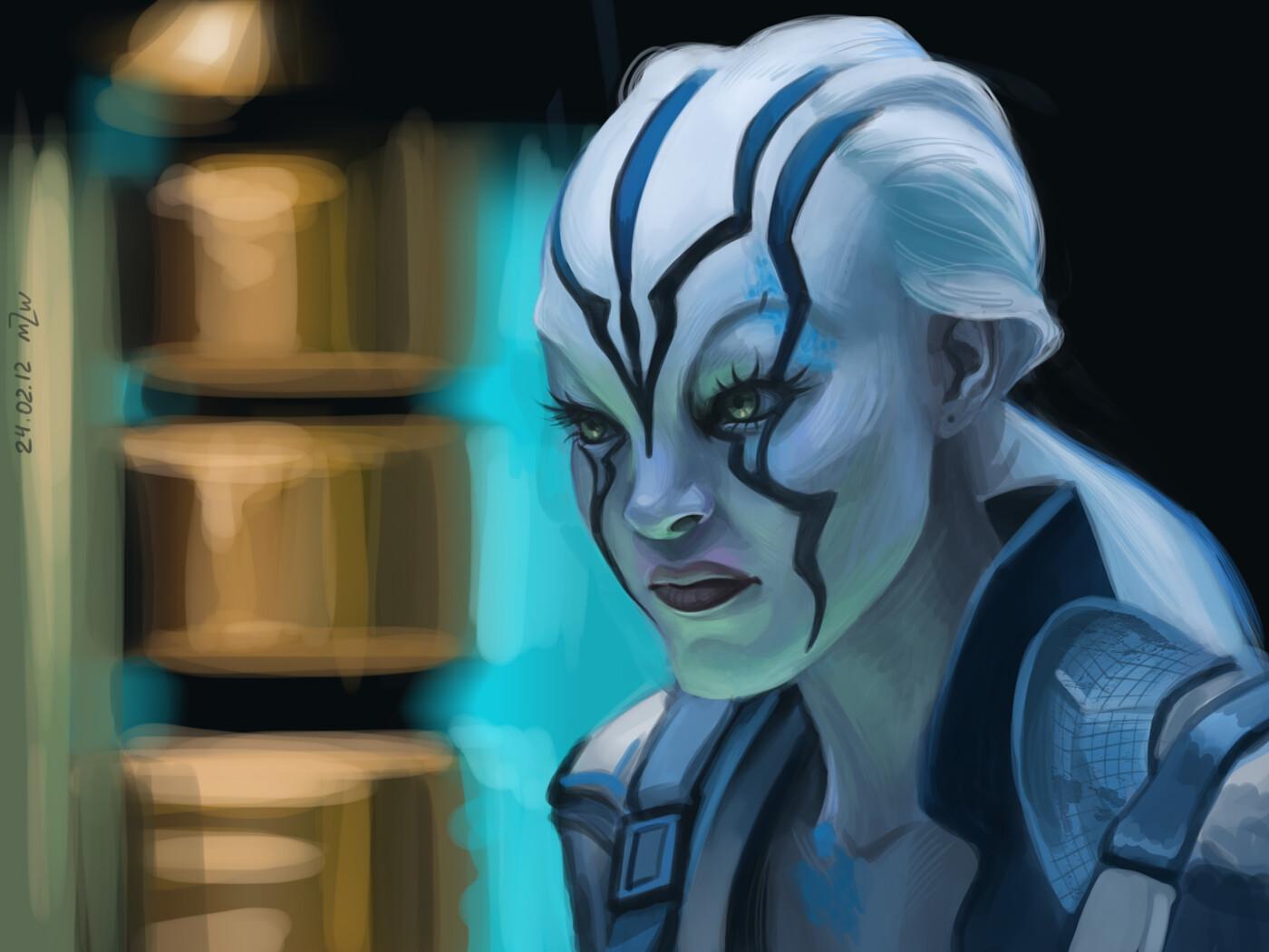 Jaylah from Star Trek Beyond