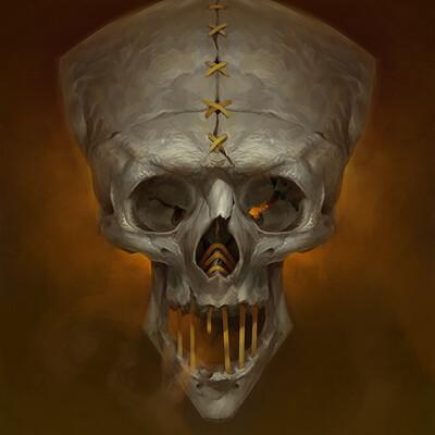 Reiko gross skull4