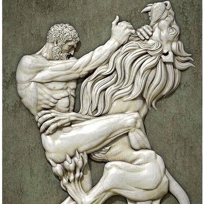 Alex dubnoff hercules vs lion