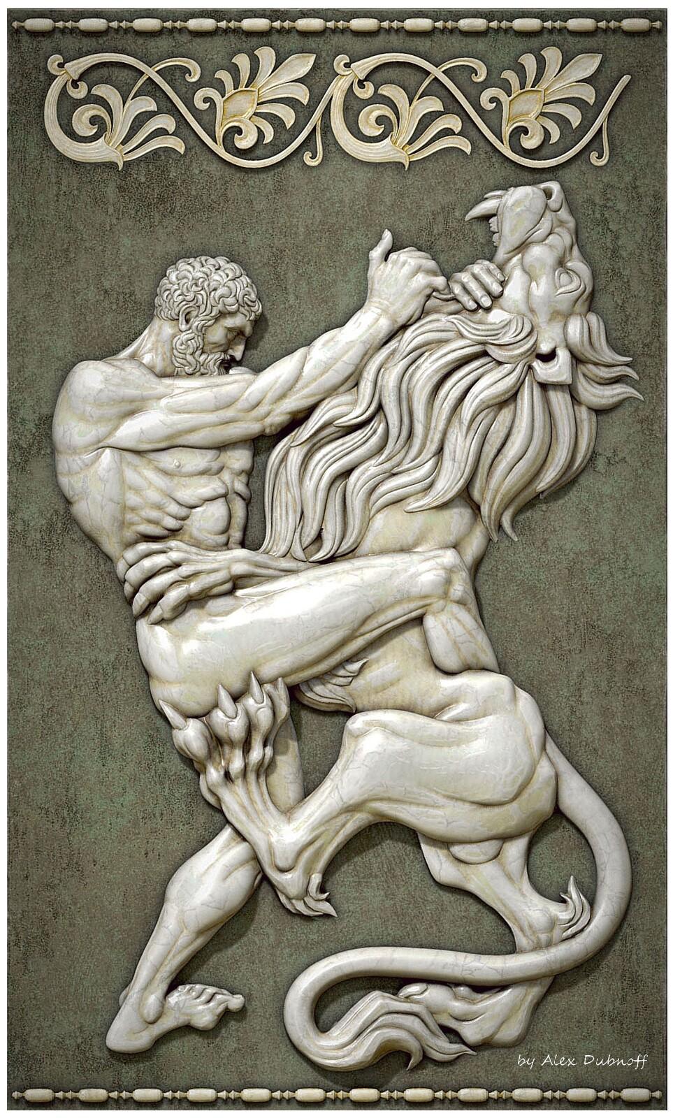 1st feat of Hercules