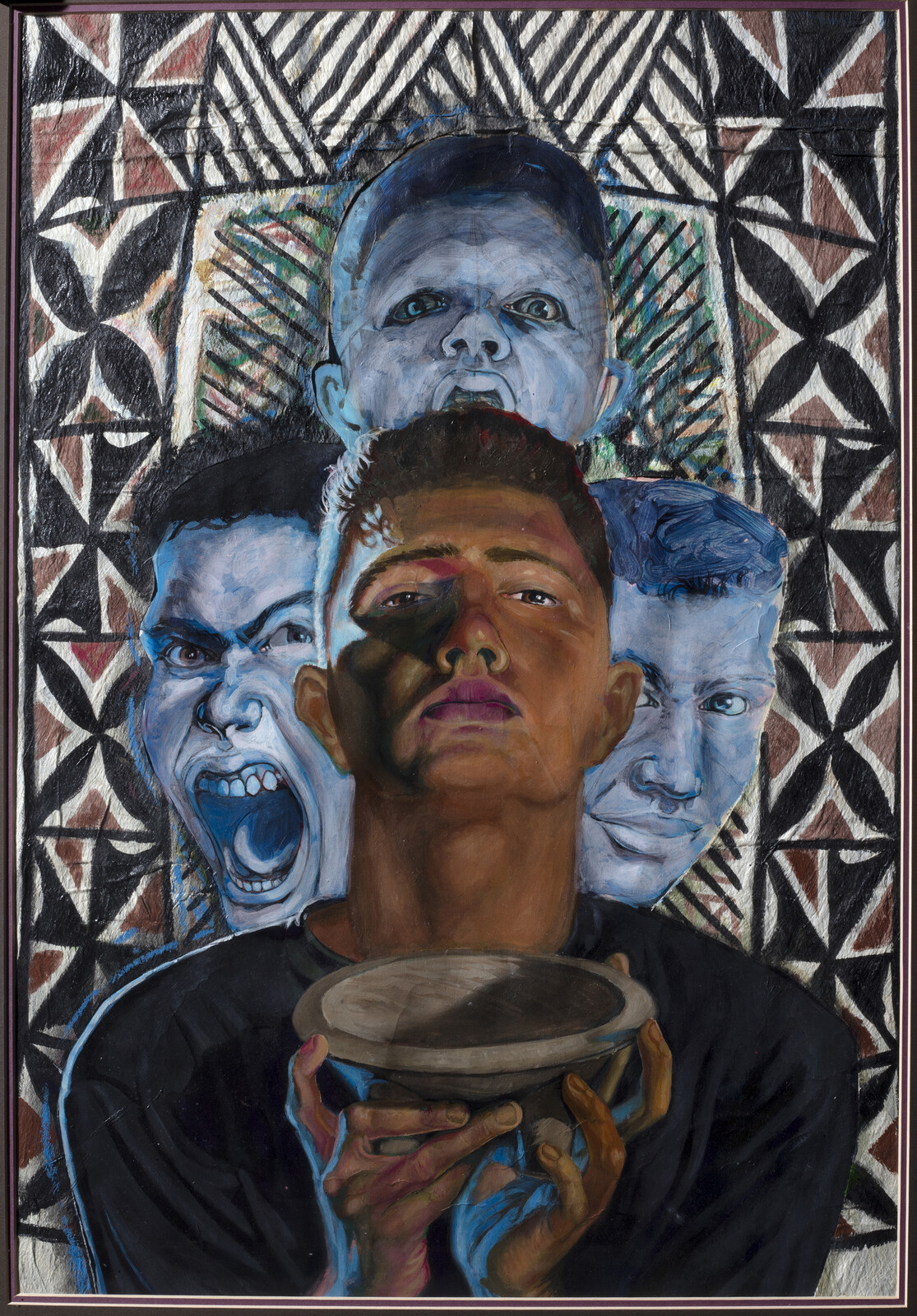 Self Portrait with Kava and friends