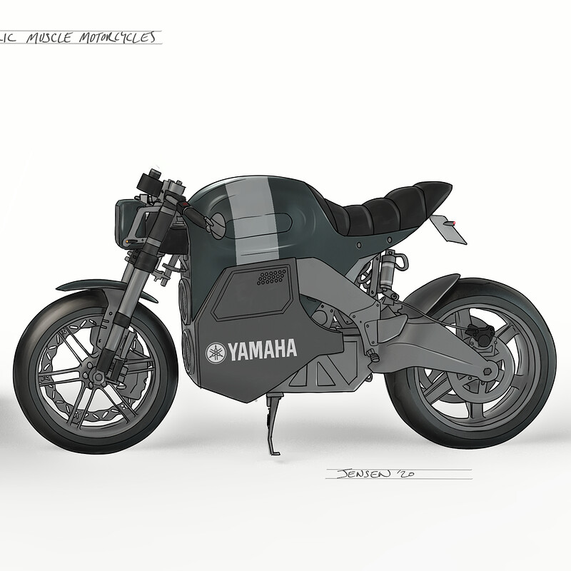 Electric Motorcycle Concept 2