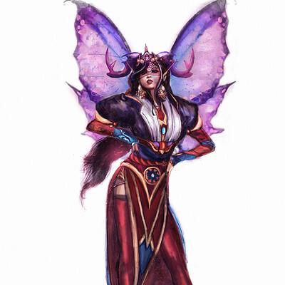 Krystyna nowek fairy witch x