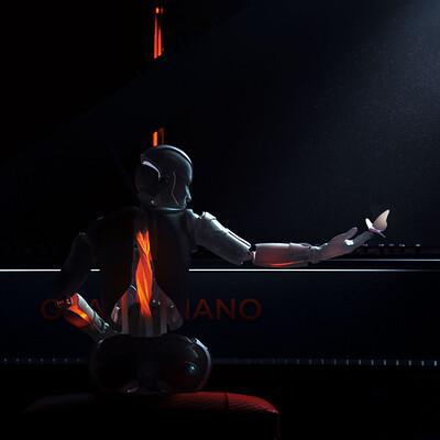 Bat max grand piano