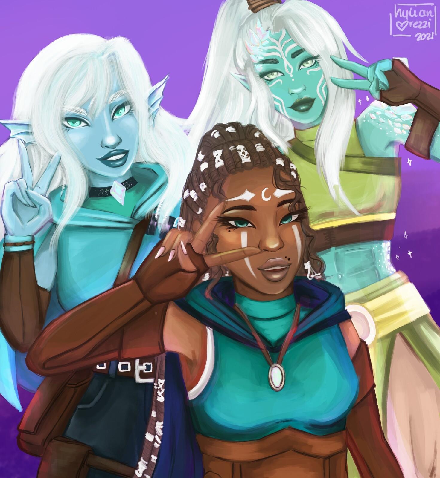 The Turquoise Trio