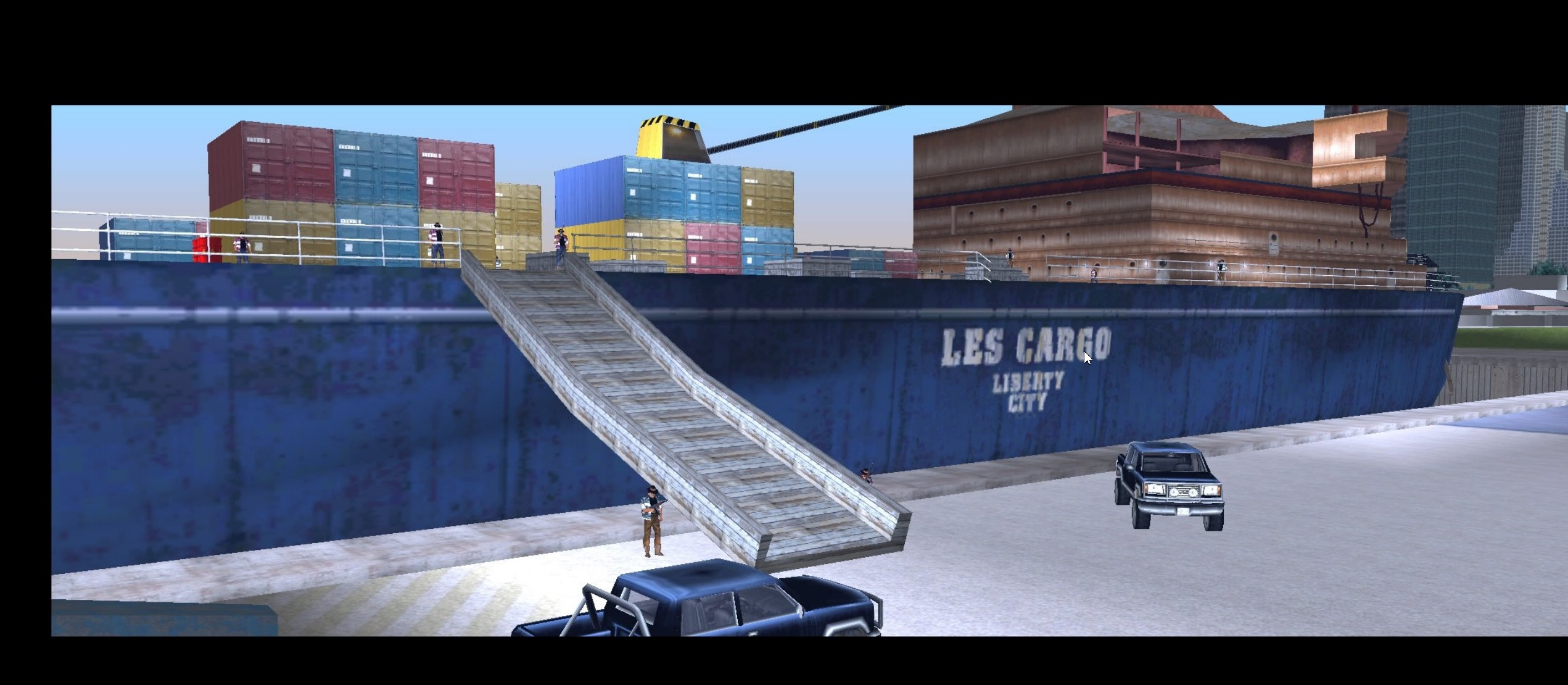 Remember The CARGO.