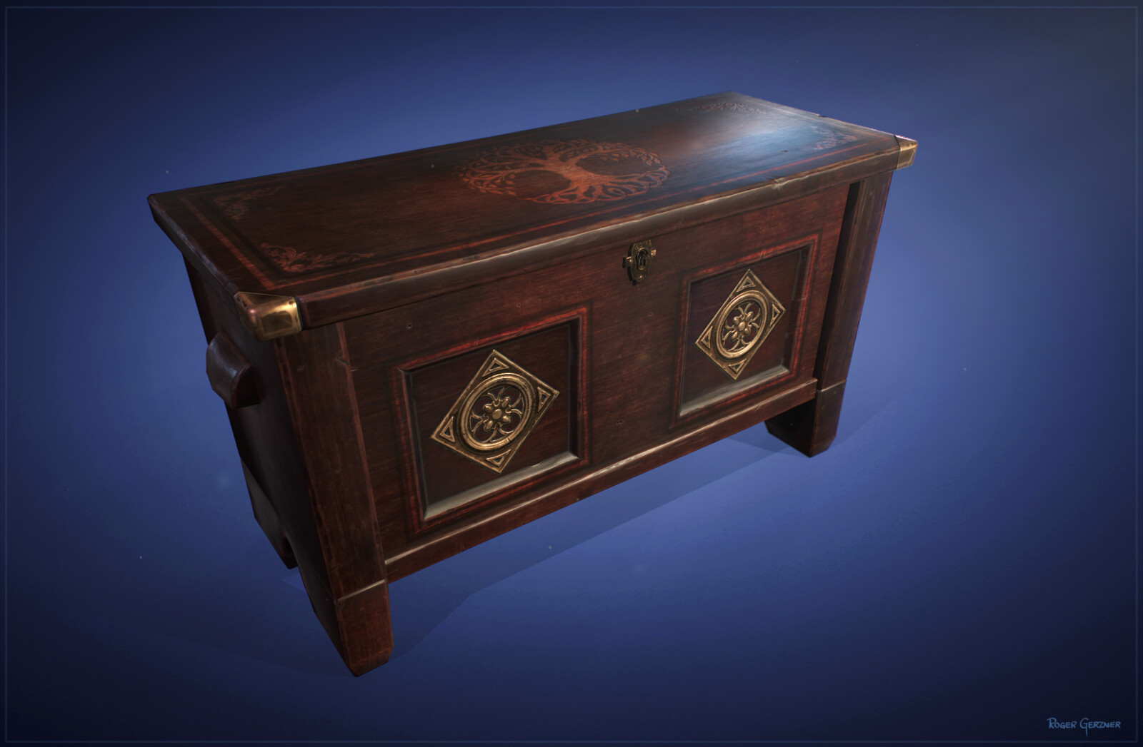Stylized Medieval Chest