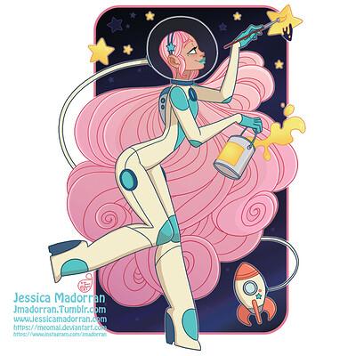 Jessica madorran patreon march 2021 sticker design artstation01