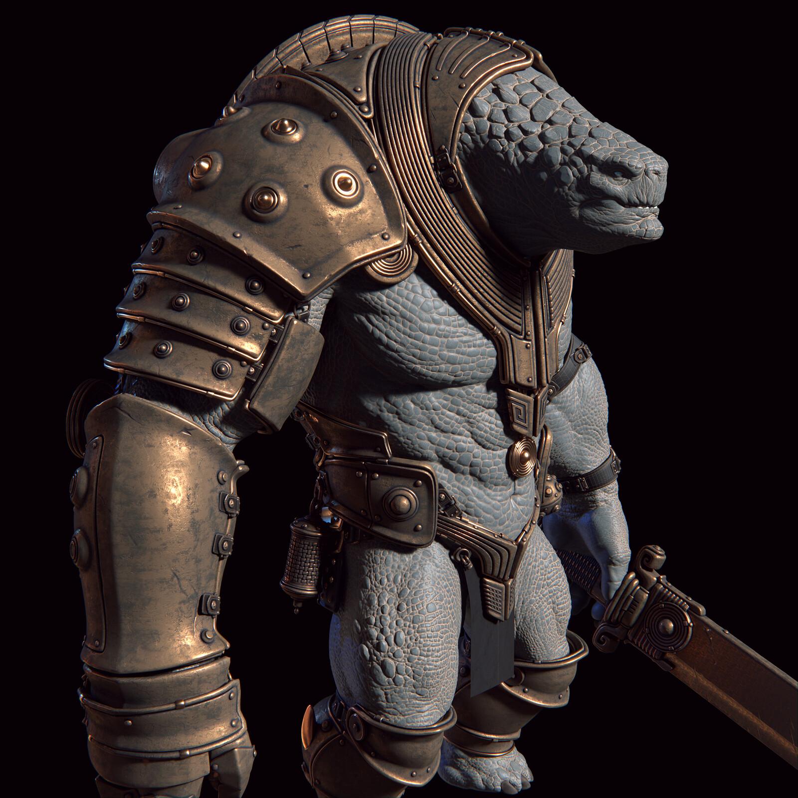 Tortoise Warrior W.I.P