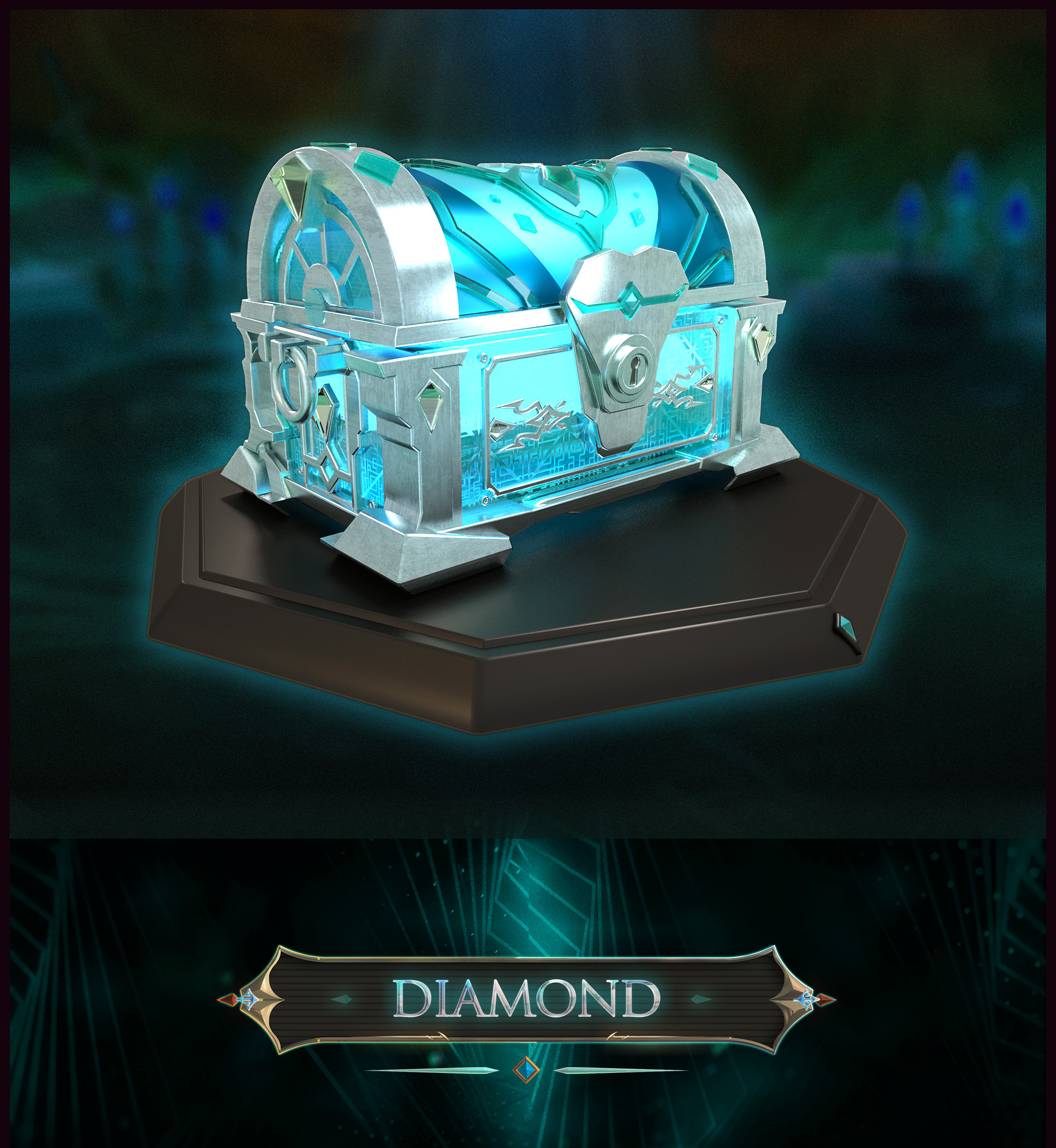 - ICE ITZY Chest -