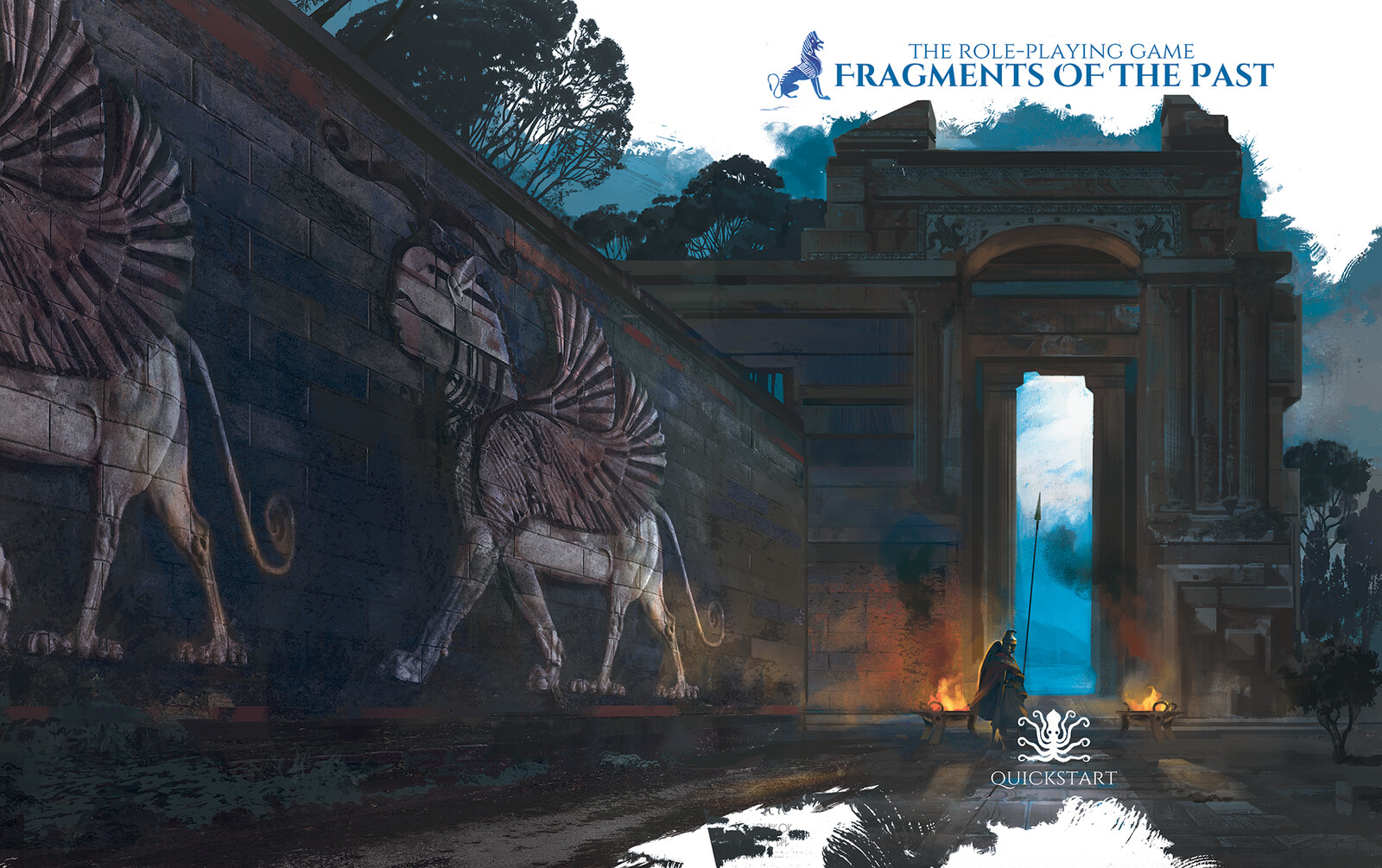 Fragments of the Past Quickstart TTRPG Cover
