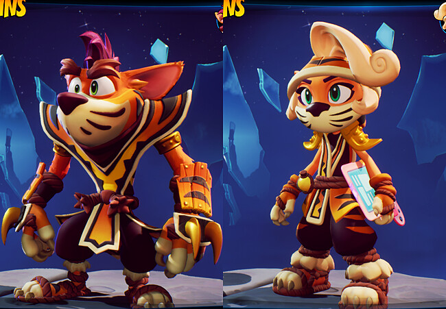 Final skins in game.