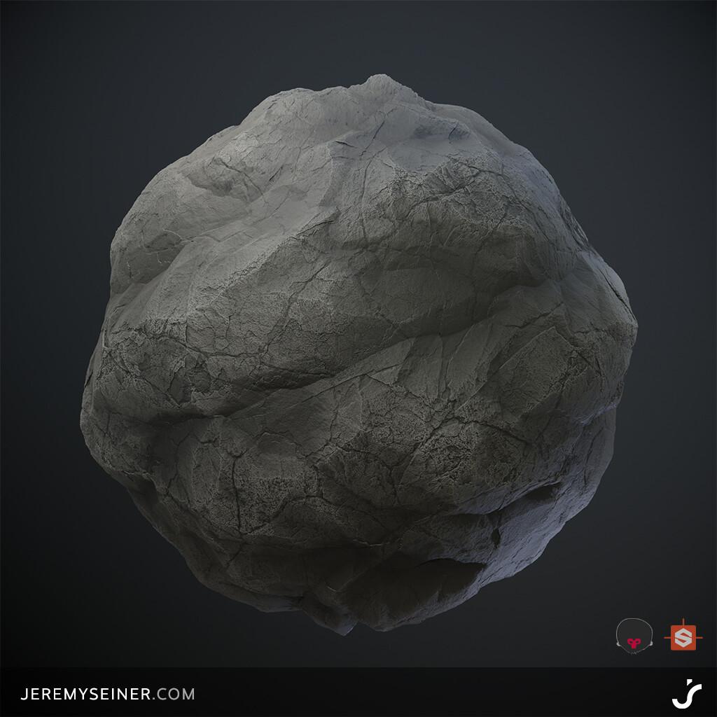 Sphere rendered in Marmoset Toolbag 3
