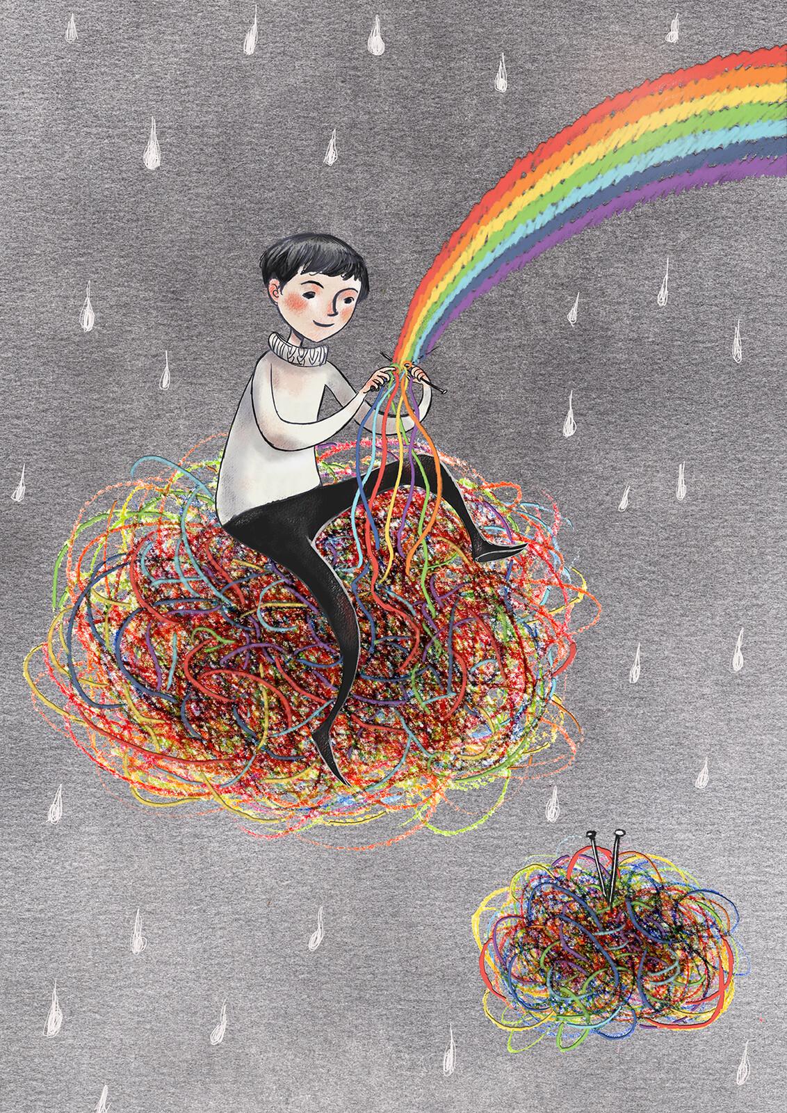 Groviglio arcobaleno