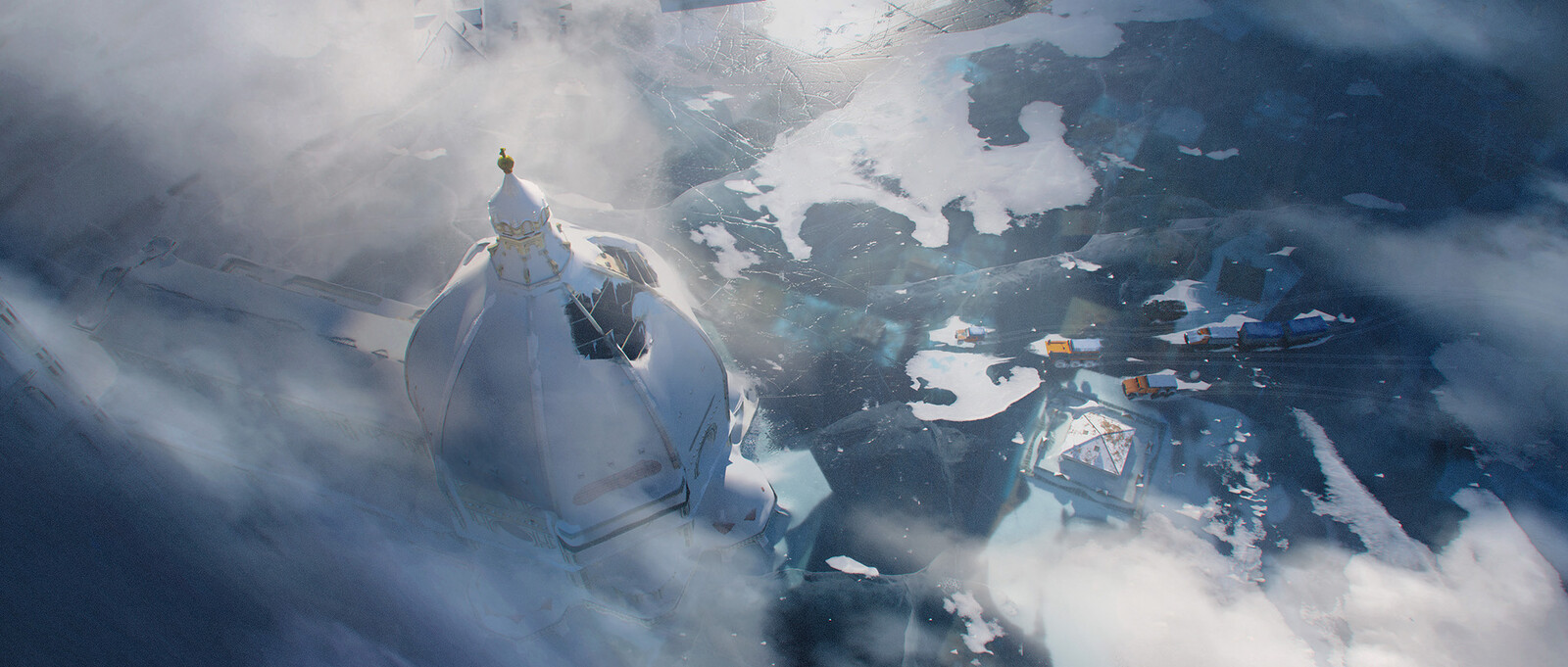 The Cathedral of Ice