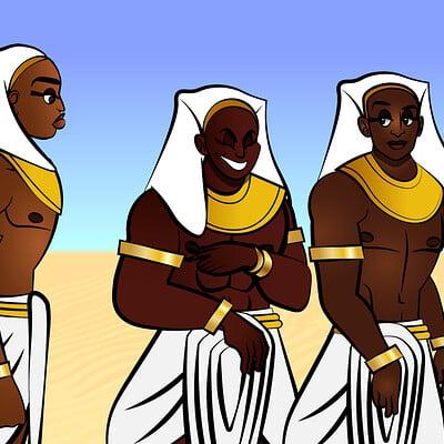 Larry springfield jr egyptian men