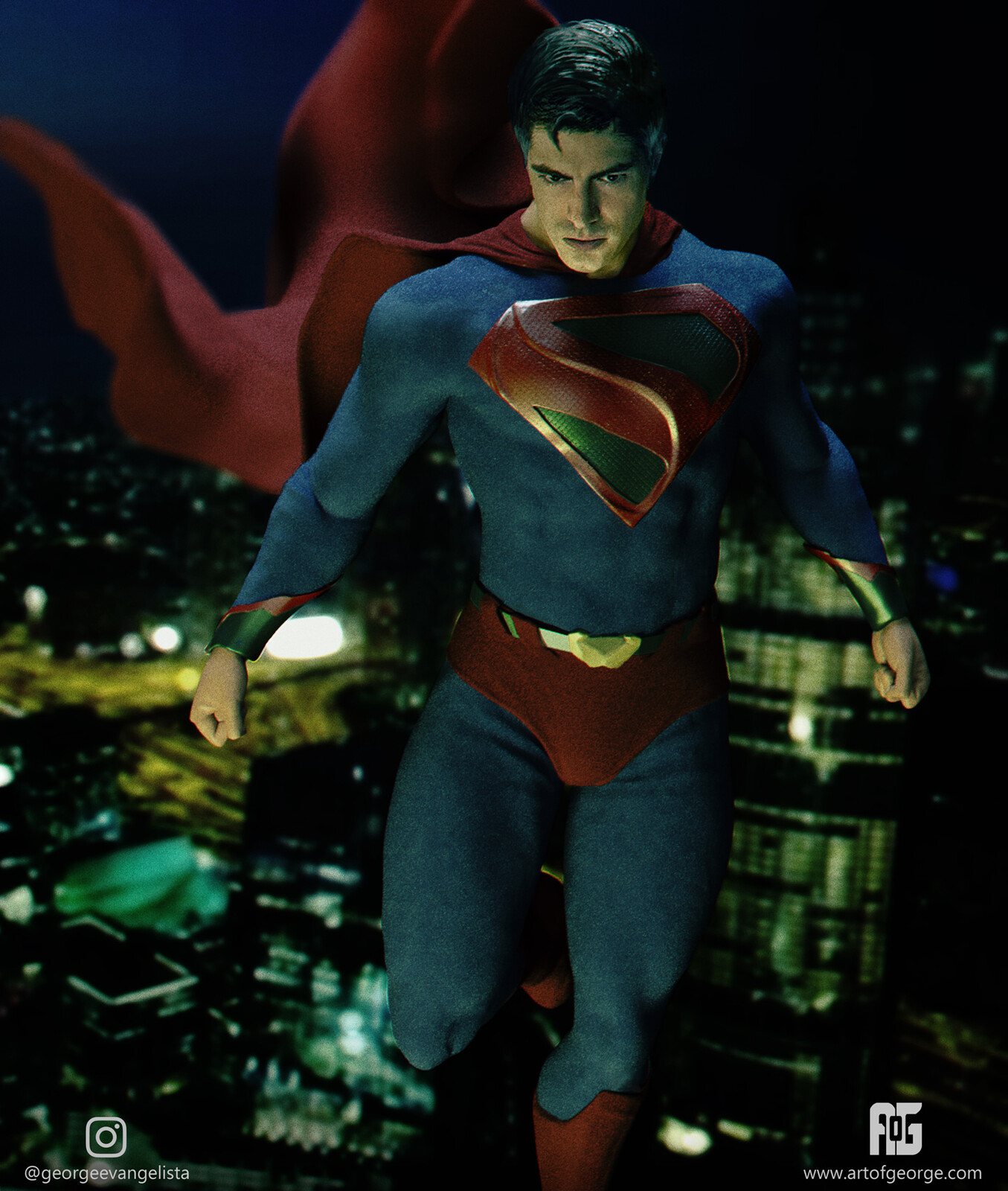 Kingdom Come Superman - Brandon Routh