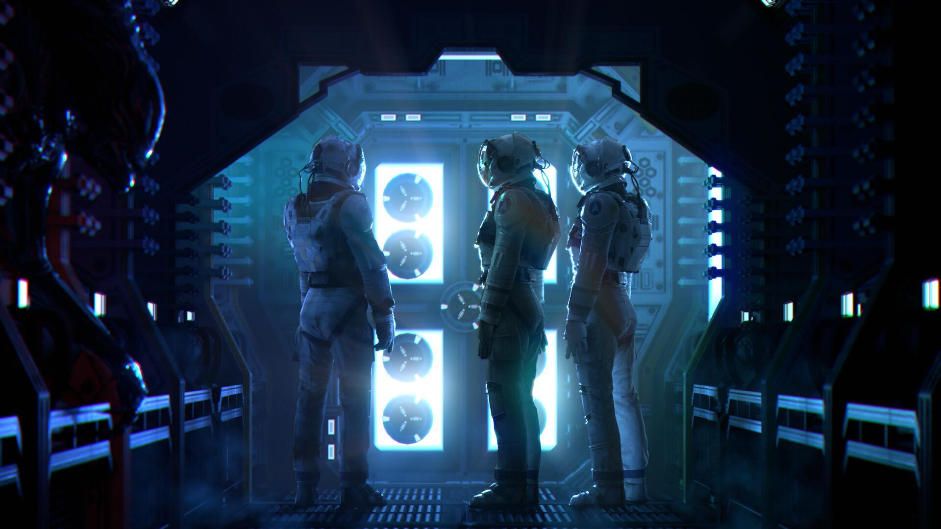 Space Walk - Lighting Demo
