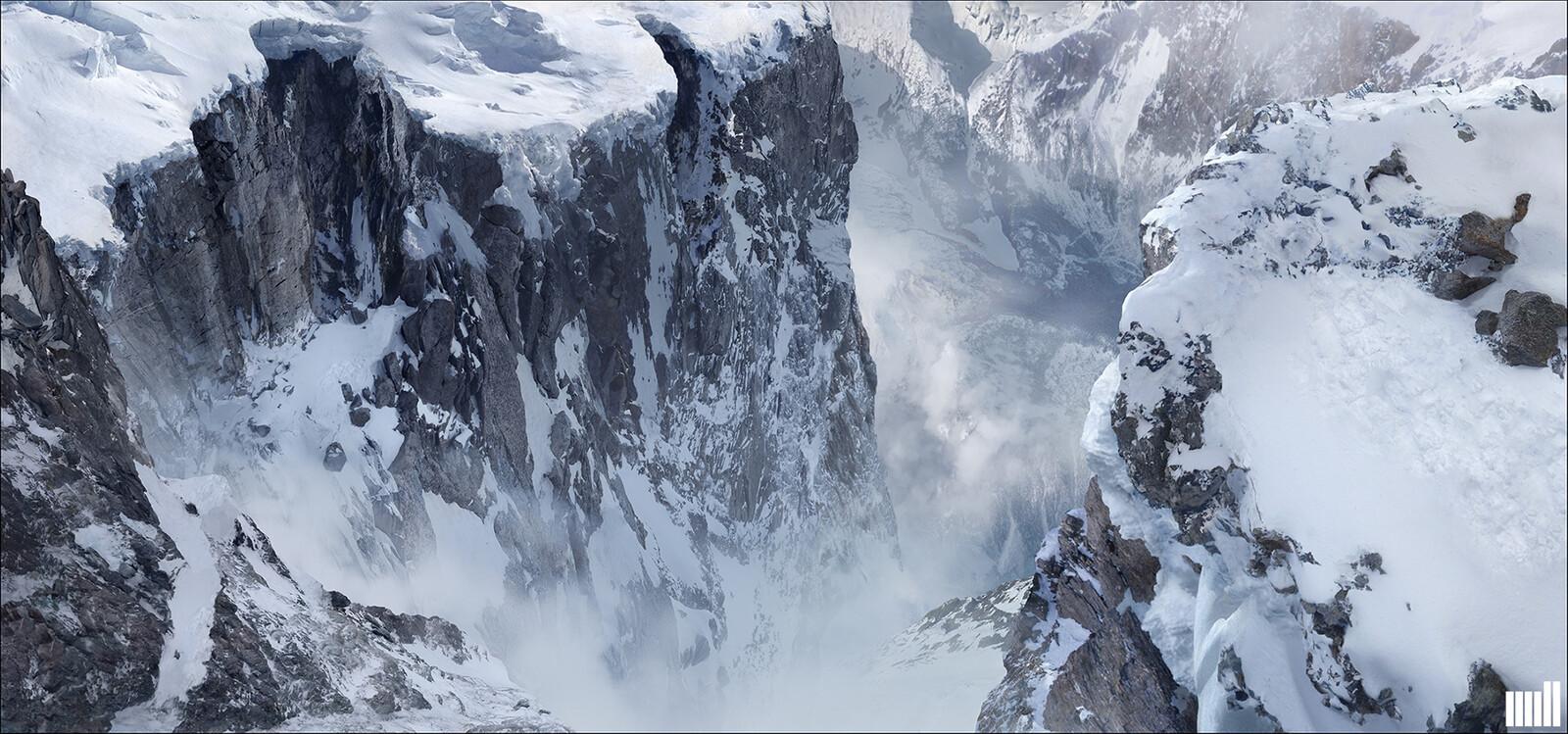 Mountain scene DMP.