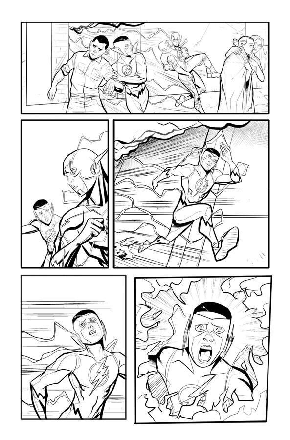 Kid Flash p 13Kid