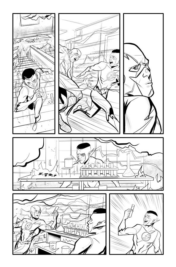 Kid Flash p 17