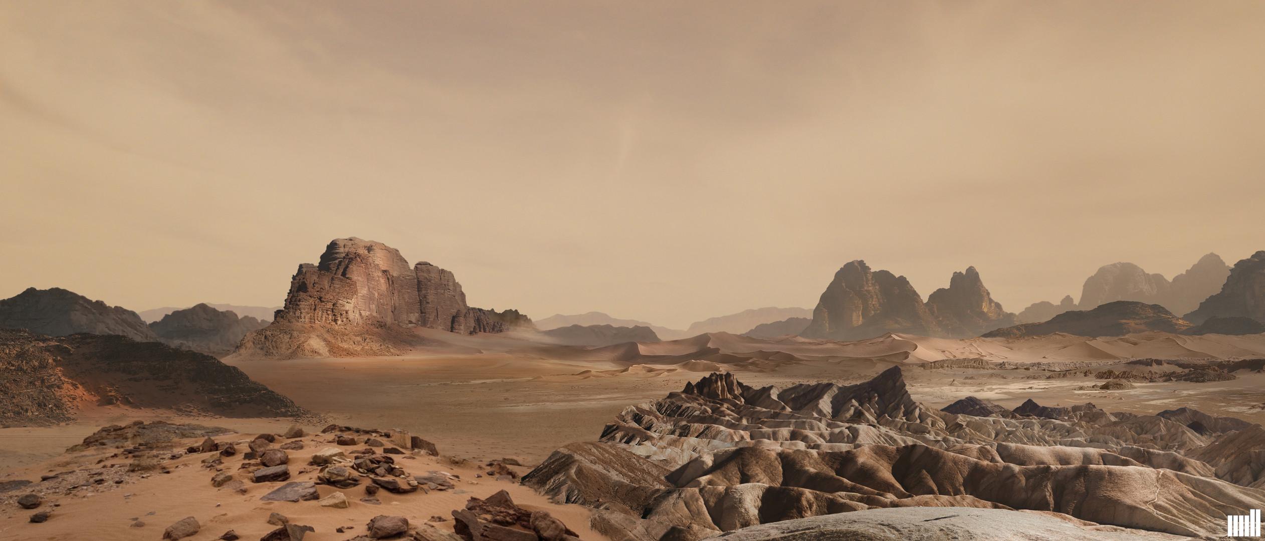 Desert - Matte Concept