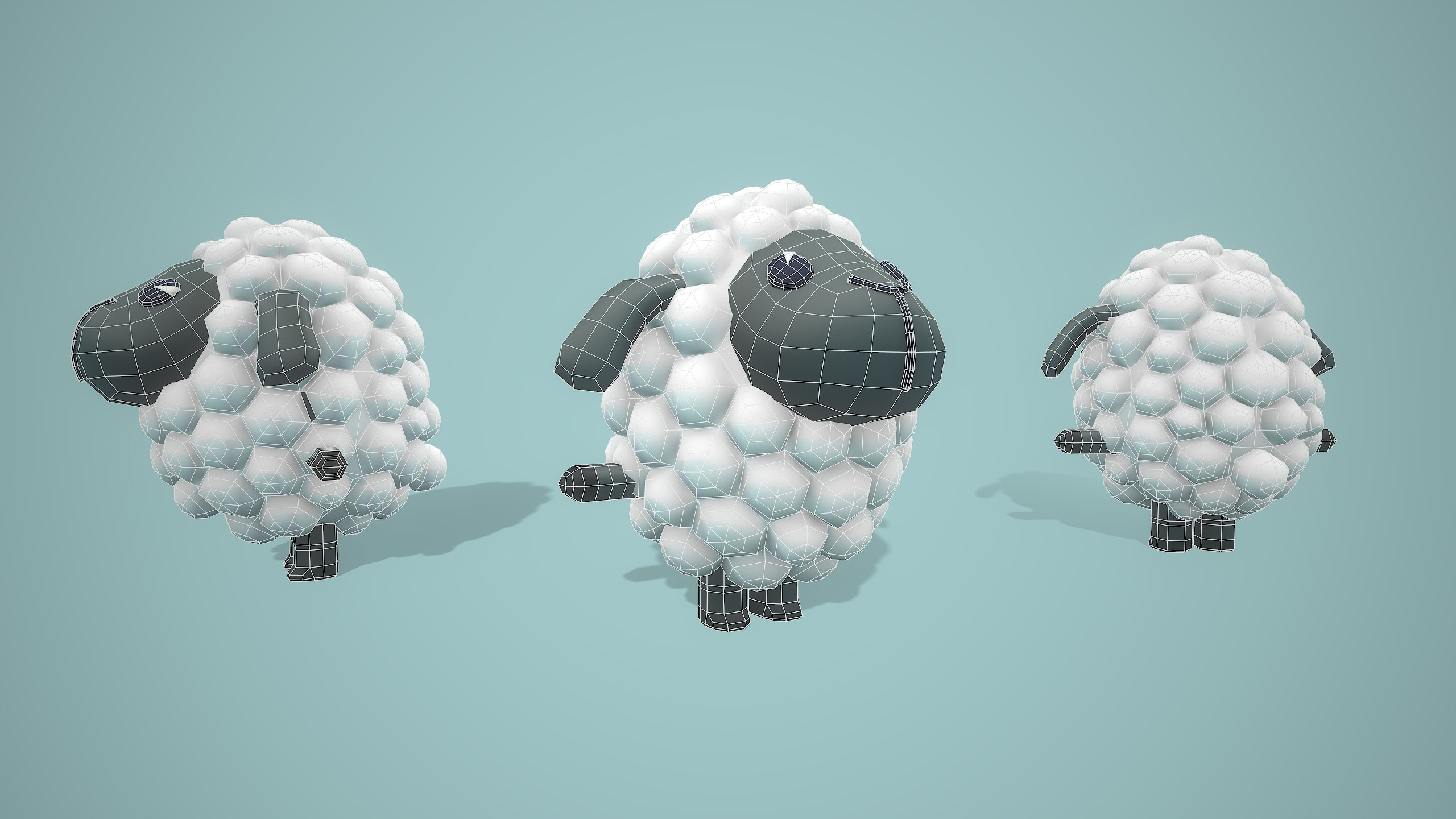 Sheep wireframe