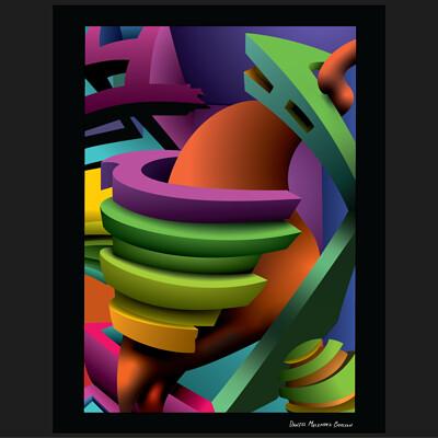 Daniel melendez boelian daniel melendez boelian tangled geometry vectorized framed