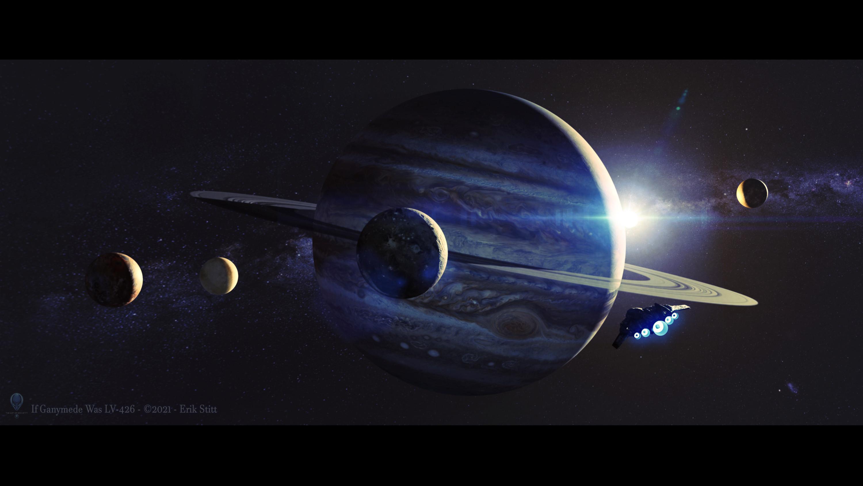 If Ganymede Was LV-426