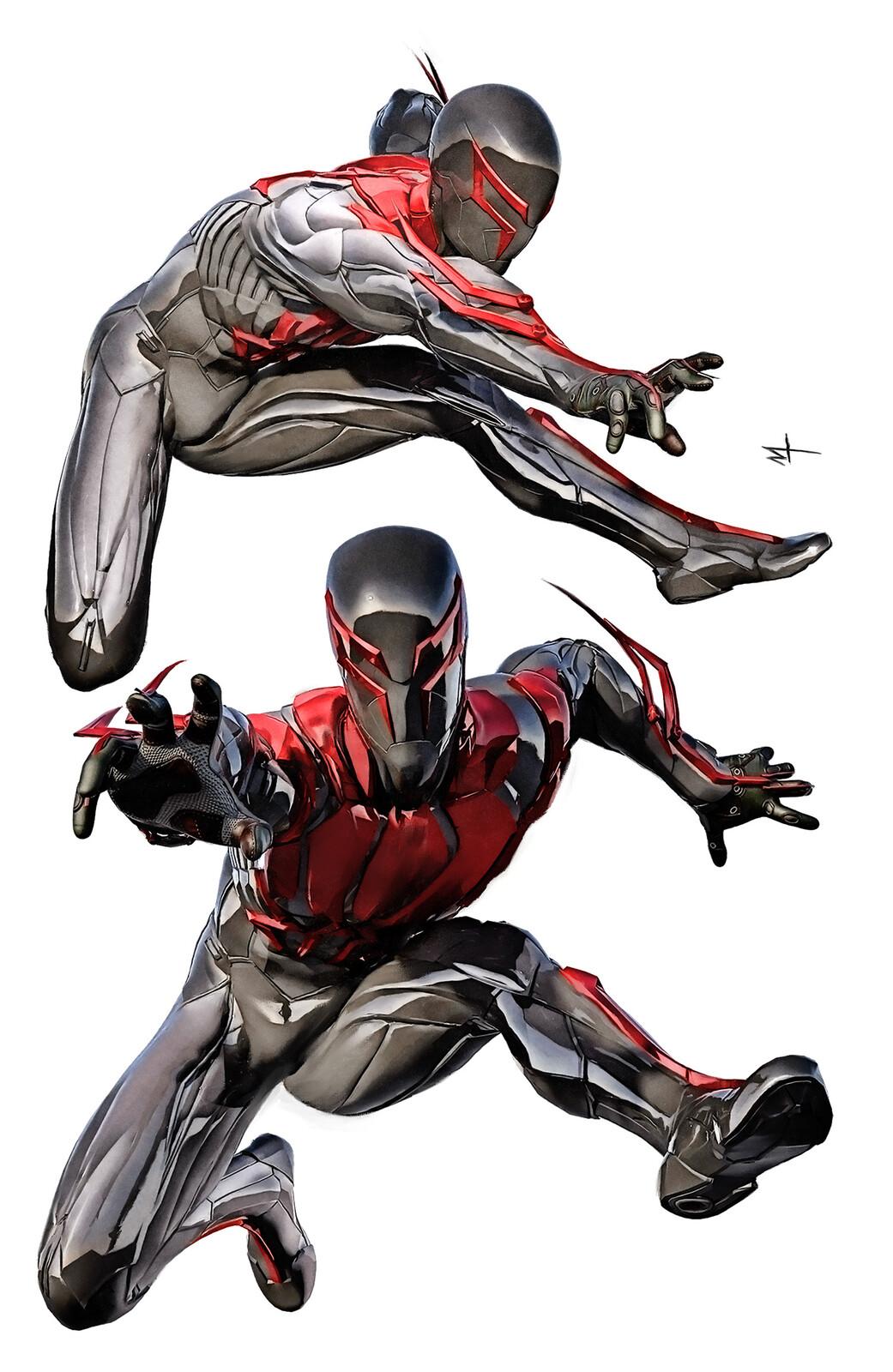 Spiderman Suit Concept