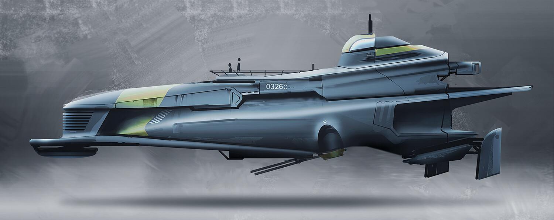 Scifi Submarine concept