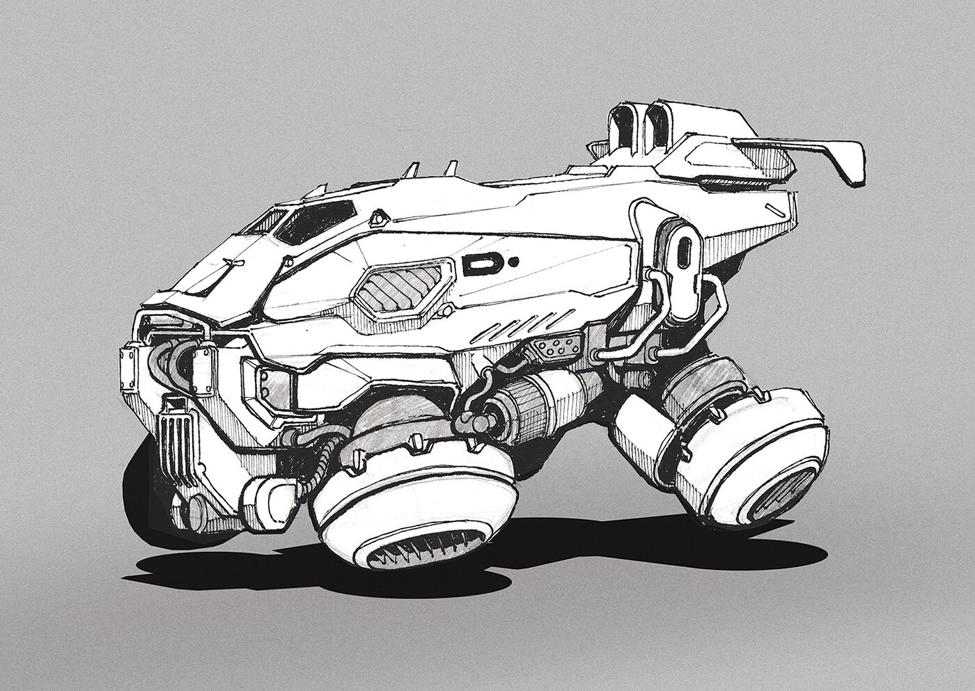 Heavy hovercraft concept