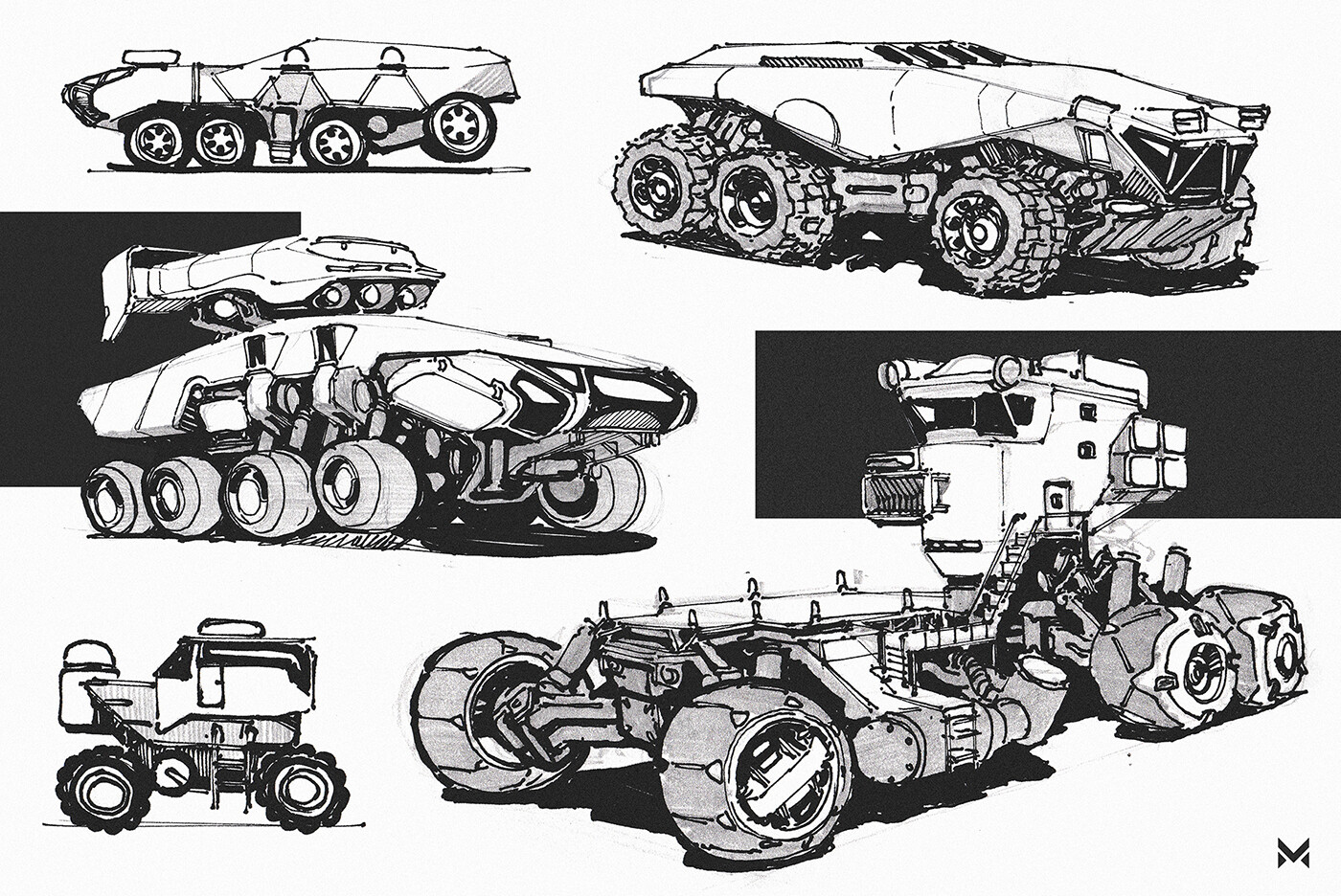 Heavy duty loader-truck concepts