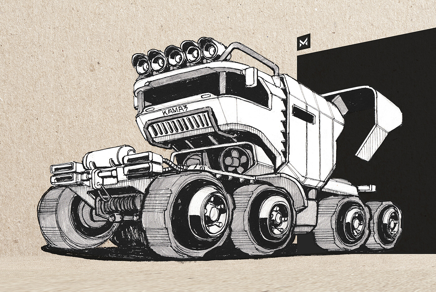 KAMAZ offroad truck concept