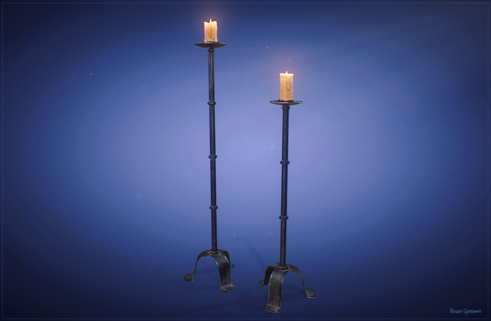 Medieval Candle Stande
