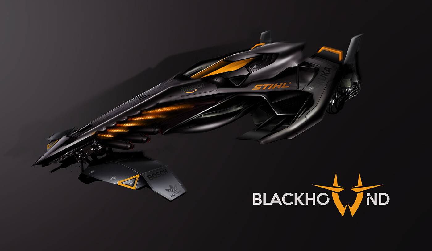 Blackhound Brand - competition build