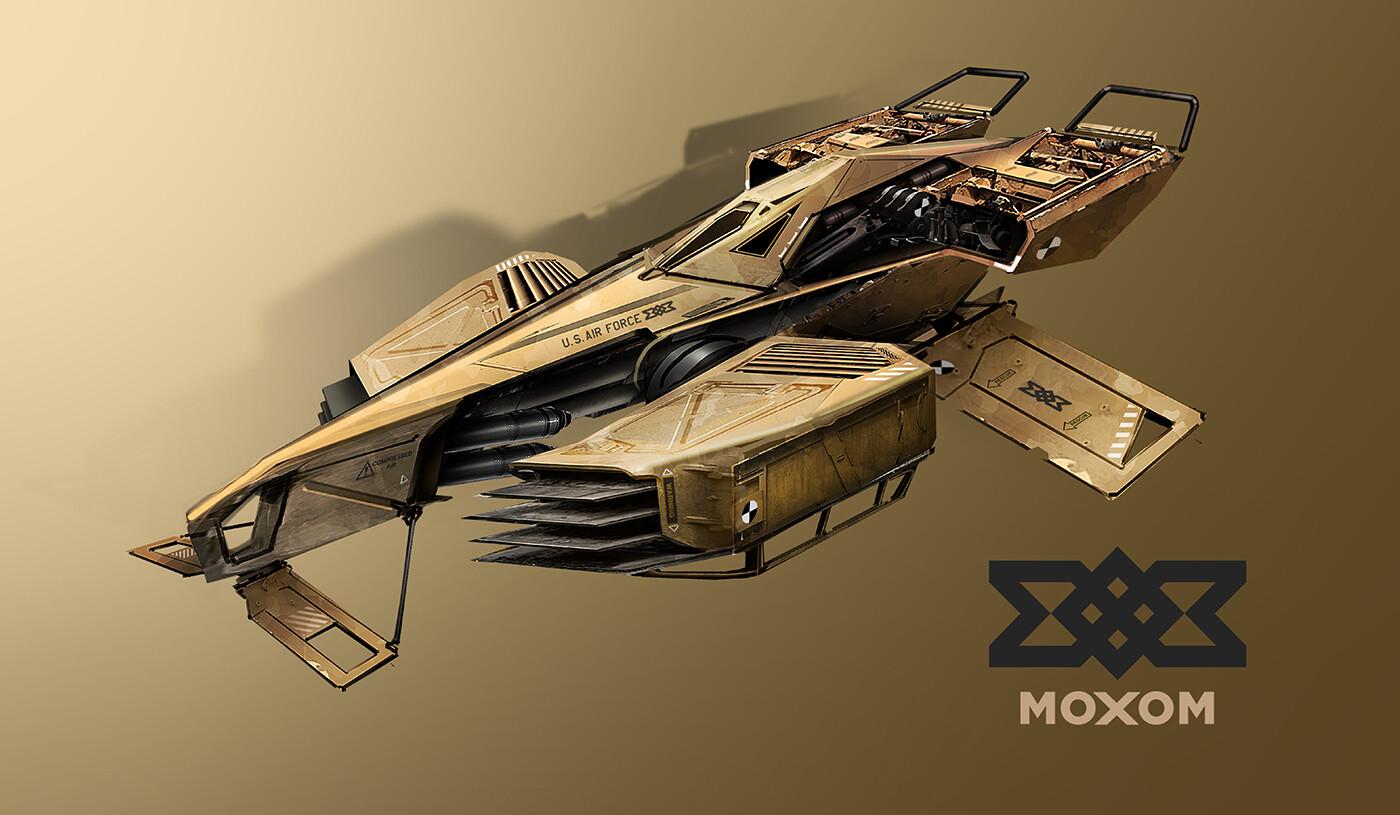 MOXOM Military - prototype build