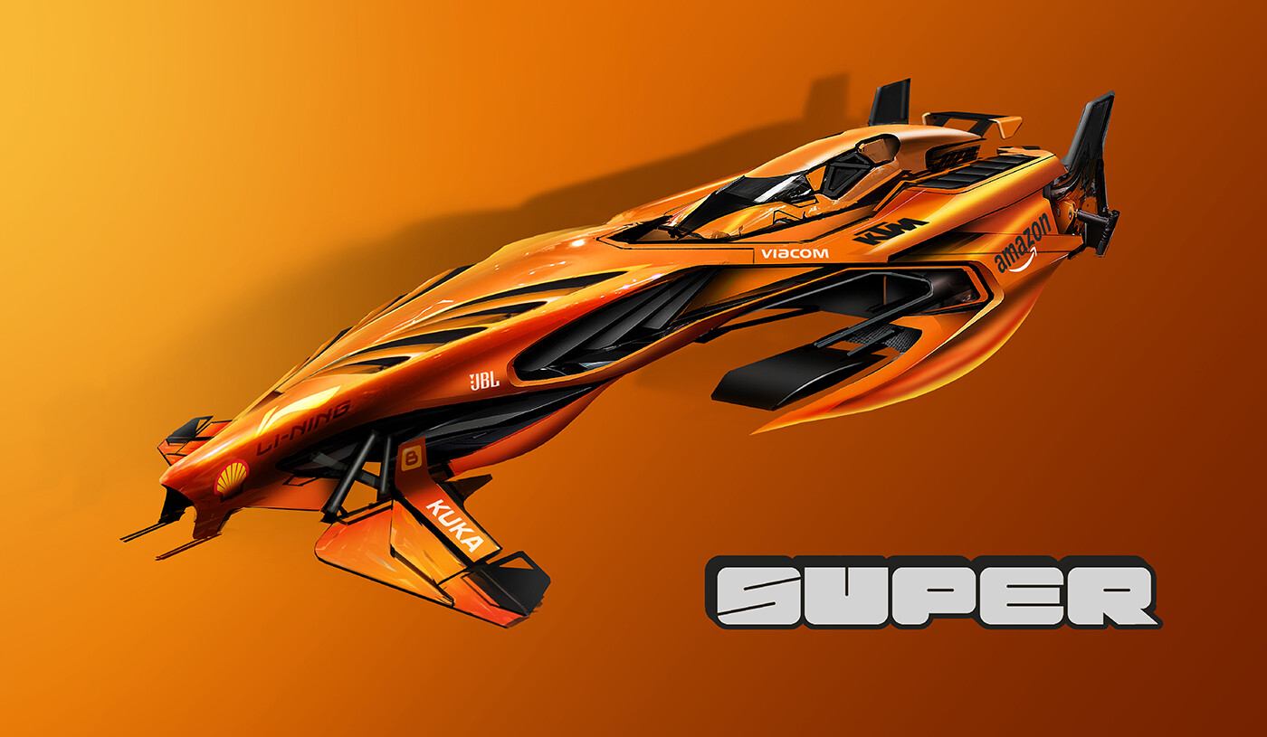 Super Racing - competition build