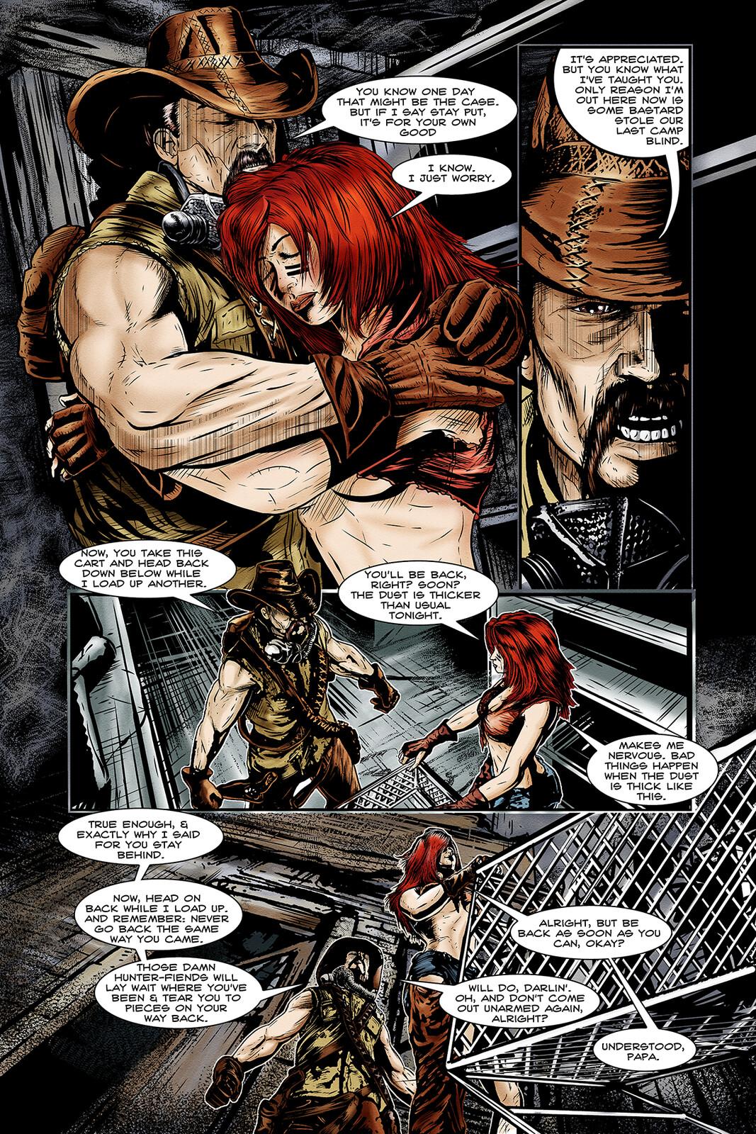 Apocalypse Girl #1 Page 3