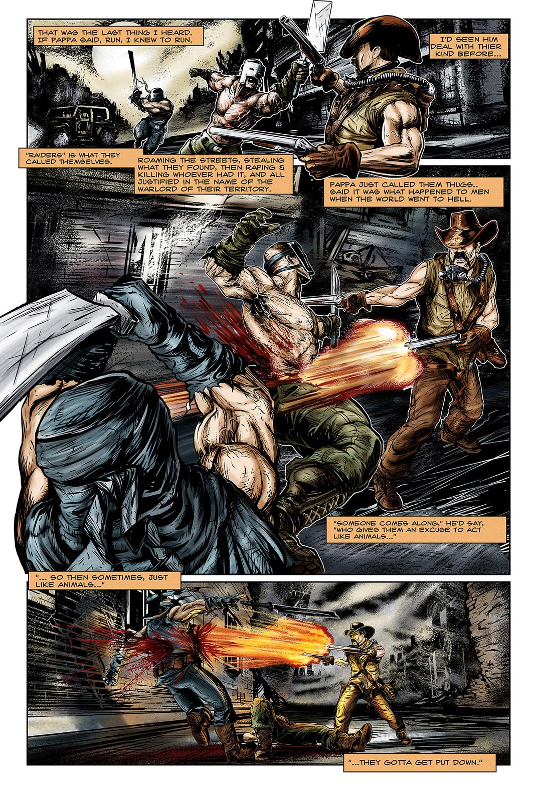 Apocalypse Girl #1 Page 5